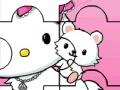 Game Hello Kitty palapeli. Pelaa online