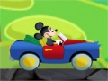 Game Mickey Mouse Car Driving Challenge. Pelaa online